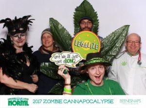 Zombie Cannapocalypse Fundraiser