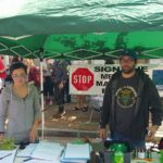 Greater St. Louis NORML signature gathering booth with New Approach Missouri