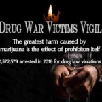 Greater St. Louis NORML Drug War Victims Vigil on Valentine's Day.