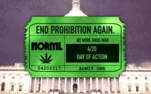 NORML 420 Action Day to end marijuana prohibition