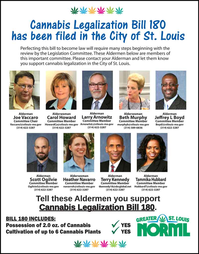 Board Bill 180 and the Legislation Committee responsible for passage.
