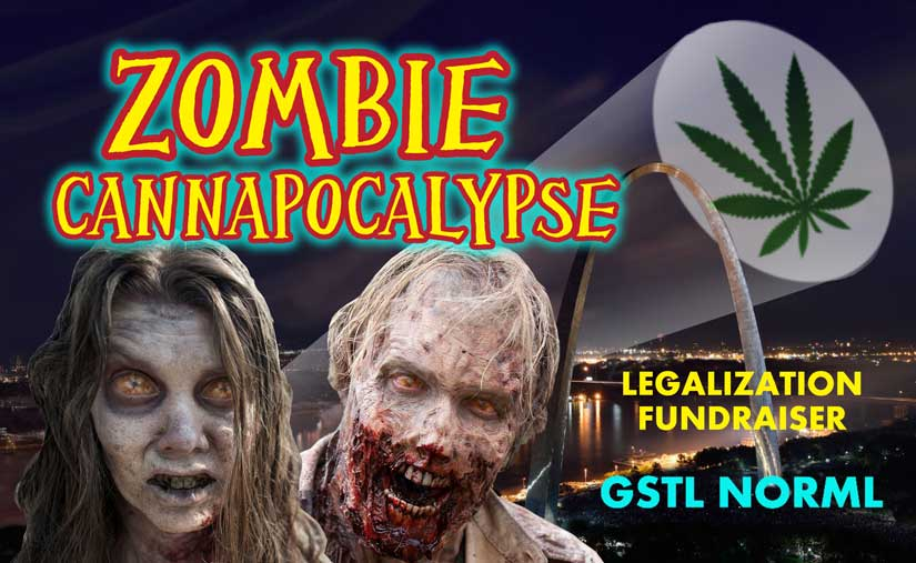 """Join Us for a """"Zombie Cannapocalypse"""" Halloween Party to Support Legalization"""