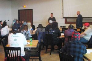 New Approach Missouri St. Louis Kickoff Event to Train Volunteer signature gatherers.