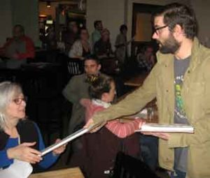 Petitions were handed out to volunteers at the New Approach Missouri Kickoff Event